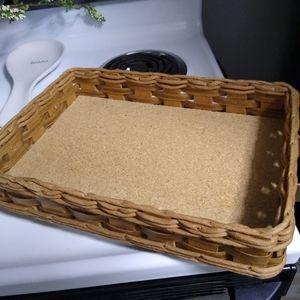 Vintage pyrex tray